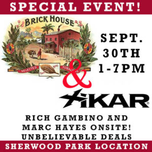 Xikar Brick House Cigar Event Edmonton