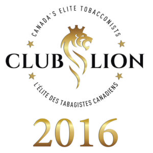 Canadas Elite Tobacconist club lion