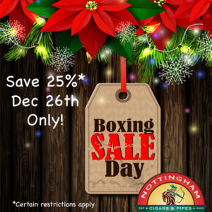 Boxing Day Sale Monday Dec 26th